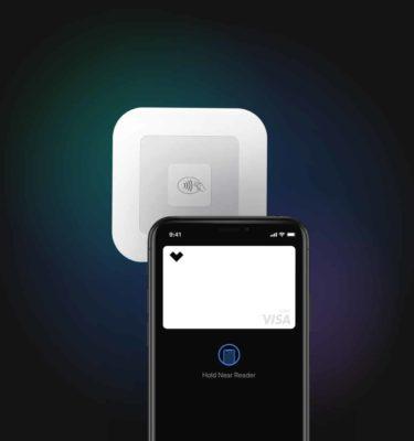 Image of digital wallet in use